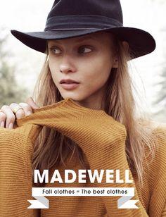 Catálogo de Outono – Madewell