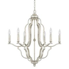 Blair 6 Light Candle Chandelier