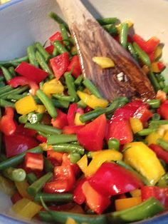 Home of Owl: Bell Pepper Salad