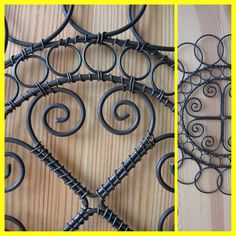 Barbed Wire Art, Wire Weaving, Wire Baskets, Wire Crafts, Wire Work, Wire Jewelry, Metal Working, Sculpture, Handmade