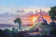 Sleeping Beauty - Blessings for the Princess - Rodel Gonzalez - World-Wide-Art.com