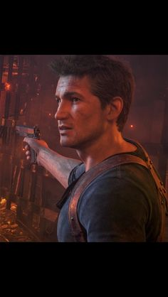 His eyes though Nate The Great, Uncharted Series, All Video Games, Nathan Drake, Dog Games, Adventure Games, Gaming Wallpapers, Games For Girls, Resident Evil