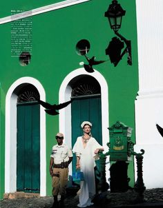 """This Festival of Life"" | Model: Bette Franke, Photographer: Giampaolo Sgura, Vogue Japan, April 2013"