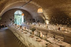 Beautiful Wedding Styling by Another Story Studio - Rustic French Wedding At Chateau de Lartigolle With Elegant And Minimal Styling By Another Story Studio With Bride In Laure De Sagazan The Mews Notting Hill Images by Darek Smietana