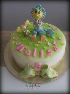 Fifi flowertots cake