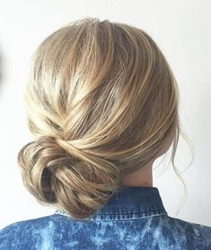 Casual+Side+Bun+Updo