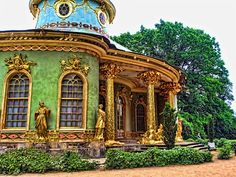 Postdam. The China House in the Gardens of Sanssouci  © Akistoy Aki