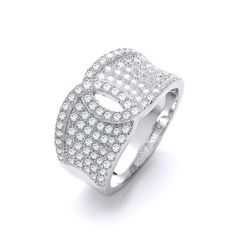 Sterling Silver Micro Pave White Cubic Zirconia Ring New Bridal Jewelry, Jewelry Gifts, Jewellery, Cubic Zirconia Rings, Cocktail Rings, Gifts For Women, Jewelry Watches, Rings For Men, Wedding Rings