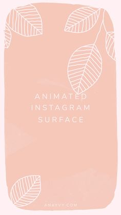 Our first ANIMATED & corporate graphic design set is here! Say hello to ROSES & PEACH! We created this lovely set for you, you wedding designers & romantic aesthetic lovers! Feeds Instagram, Instagram Grid, Creative Instagram Stories, Instagram Story Ideas, Instagram Design, Logo Anime, Instagram Frame Template, Watercolor Quote, Instagram Background