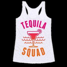Tequila Squad Racerback