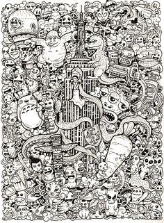Plongez dans l'univers incroyable de ce carnet à croquis illustré par Kerby…