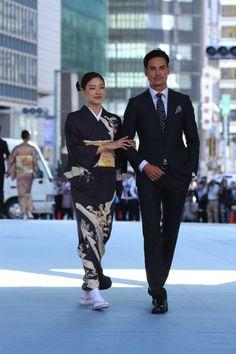 【画像 39/52】日本橋が着物ショーの舞台に「日本橋ランウェイ」新作50着を披露の拡大写真