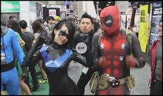25 Gifs of Today - Page 24 of 25 - Cineloger Deadpool X Spiderman, Deadpool Cosplay, Deadpool Funny, Marvel Funny, Marvel Memes, Batman, Deadpool Pictures, Gotham Villains, Cosplay Events