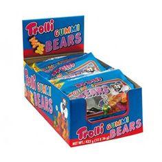 Trolli Gummy Bear 45g - 12 Units