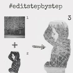 Tag your photo tutorials with #editstepbystep to share your creative photo editing tutorials!