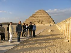 Sakkara Necropolis - Port Said Port Trips to Giza Pyramids.
