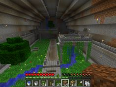 /r/minecraft: Undergroundgarden.. not finished yet