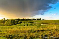The changing weather of Kansas. Atchison, Kansas