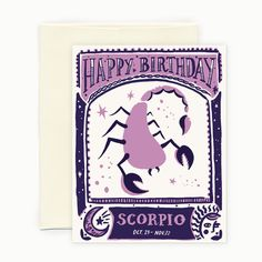 Passionate, resourceful, and dynamic. Celebrate your Scorpio's great traits on…