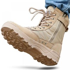 Men Desert Tactical Military Boots Mens Working Safty Shoes Army Combat Boots Militares Tacticos Zapatos Men Shoes Boots Feamle-in Work & Safety Boots from Shoes on AliExpress Military Tactical Boots, Military Shoes, Tactical Pants, Desert Boots, Mens Winter Shoes, Army Combat Boots, Men's Shoes, Shoe Boots, Male Shoes