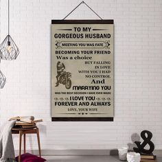 åÊ Material : High Quality Canvas Wood Frame : Available Frame ; Ready to hang Ink : Waterproof Ink Technics : Spray Painting Canvas Wood Frame, Hanging Canvas, Son Quotes From Mom, Family Canvas, Biker Quotes, I Love You Forever, Painting People, Marry You, Spray Painting