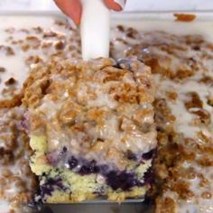 Blueberry Muffin Cake! – My Incredible Recipes