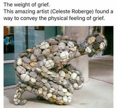 The Weight Of Grief - Brenda Dauncey - After Life, Wow Art, Looks Cool, Oeuvre D'art, Grief, Art Inspo, Amazing Art, Art Drawings, Art Photography