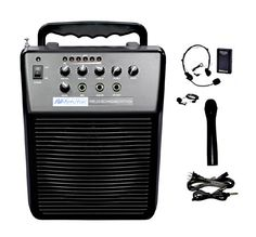 Amplivox Mity-Vox Wireless Rechargeable PA System