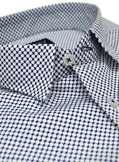 Patterned slim fit shirt! www.raimonti.gr