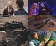 Captain Swan - Tangled - Parallels