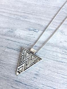 Aztec Triangle Pendant