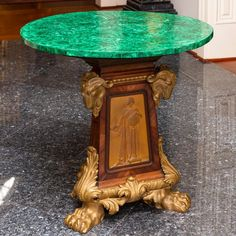 Buy online, view images and see past prices for Russian Empire Style Malachite Veneered & Gilt Bro. Empire Design, Crystal Centerpieces, Interior Decorating, Interior Design, Decorating Ideas, Lion Paw, Colored Vases, French Empire, Love Your Home