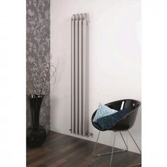 The Aeon Bamboo Stainless Steel Radiator is a fantastic design. It has stainless steel hollow bamboo shoots running the length. Stainless Steel Radiators, Stainless Steel Tubing, Brushed Stainless Steel, Wall Radiators, Vertical Radiators, Stainless Steel Grades, Designer Radiator, Up To The Sky, Bamboo Wall