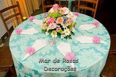 Mar de Rosas Decorações Lindolfo Soares: Centros de Mesas