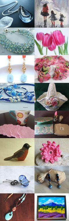 April Showers by LeAnn Frobom on Etsy--Pinned with TreasuryPin.com