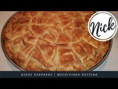 Τυρόπιτα παραδοσιακή |μόνο χέρια|Greek Traditional Cheese pie|Only hands | Klarakis Kouzina - YouTube