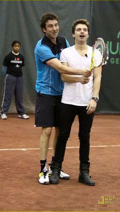 In which Sebastian is a little kid in awe of tennis. XD asdfjdlkjkjl