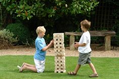 DIY Wood Games you can make yourself - Bob Vila  #weekend project #beginning woodworkers  dominoes, giant jenga, memory, block puzzle, and checkers.  bobvila.com articles DIY