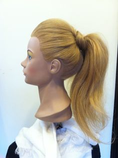 Week 10: sleek with high ponytail attempt 1