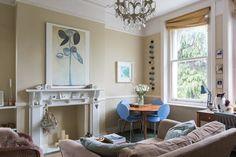 Art & Mañas » Un apartamento con un estilo entre escandinavo y vintage en Londres
