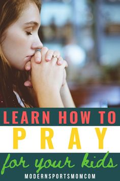 Learning how to pray for our children is an absolute must for Christian parents. This guideline on how to pray for your kids, your friends, and even your enemies!