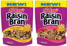 $0.75 off Kelloggs Raisin Bran Granola Coupon on http://hunt4freebies.com/coupons