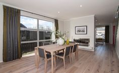 A lovely space for formal dining and entertaining. Divider, Entertaining, Dining, Space, Formal, Room, Furniture, Home Decor, Floor Space
