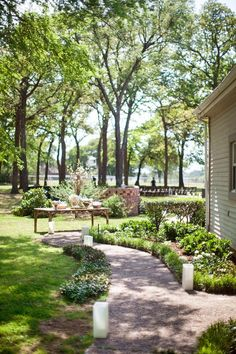 Your own backyard can provide a feeling of comfort and warmth during this most important moment of your life. Besides, a DIY backyard wedding can save you a lot of money for a budget wedding if need.