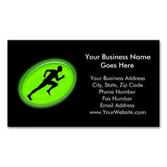 Green Glow Fitness and Personal Training Logo Double-Sided Standard Business Cards (Pack Of 100). This great business card design is available for customization. All text style, colors, sizes can be modified to fit your needs. Just click the image to learn more!