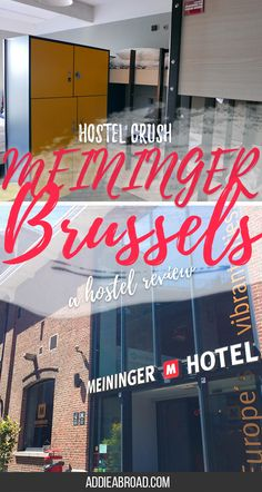Looking for a place to stay in Brussels on a budget? Check ou the MEININGER Brussels for a great experience. Read this review to find out more.
