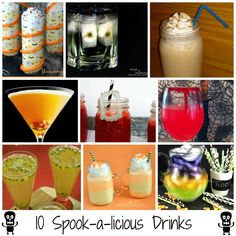 Halloween is right around the corner! If you are having an epic party, or just looking for a way to add a little fun to your holiday, you won't want to miss this list of10 Spook-a-licious Drinks! ...