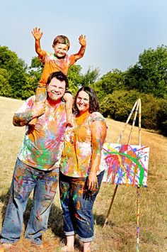 Family Paint Session