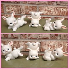 Set of 3 - Vintage Homeco Bunny / Bunnies / Rabbits - Nursery / Child's Room Decor - Peter Rabbit on Etsy, $12.95