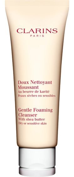 Clarins Gentle Foaming Cleanser with Shea Butter Dry/Sensitive Skin 125ml